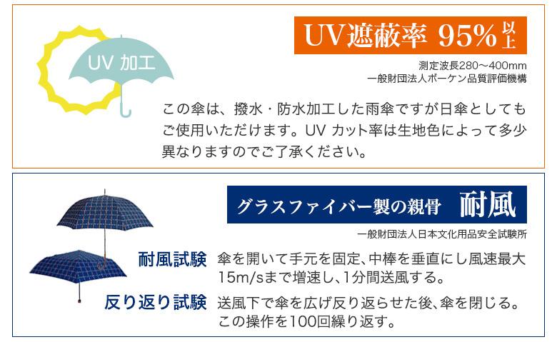 UVカット・耐風