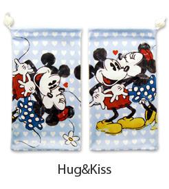 Hug&Kiss ミッキー ミニー ディズニー